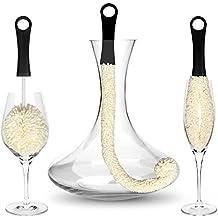 Bar Amigos ® Set di 3 - Decanter & bicchieri