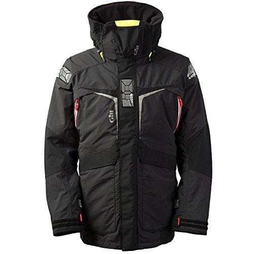Gill OS2 Mantel Mantel Mantel Graphit mit Wärmeisolierung. Wasserdicht und atmungsaktiv - Thermal Warm Heat Layer Layers -