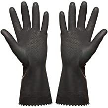 Guantes de goma talla 7(S) de la Industria Guantes aceite Acid fijo látex guantes