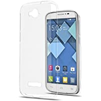 TPU Silicona Funda Protective Case transparent para Alcatel One Touch Pop C7 (OT-7040)