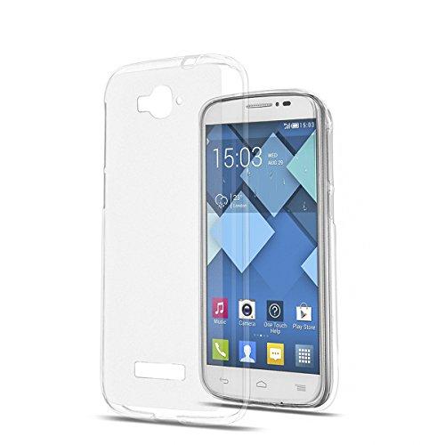 TPU Schutzhülle Case Etui transparent für Alcatel One Touch Pop C7 (OT-7040) Alcatel One Touch Pp