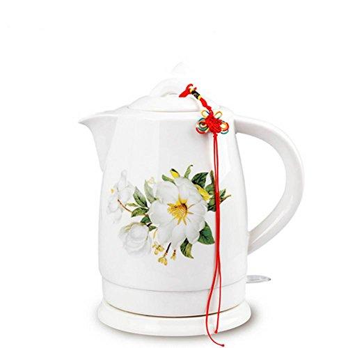 HUWAI YFK 29 * 21.8 * 22.5 eléctrico de la Caldera de cerámica rápida quemadura automática de fallo de energía, White Camellia