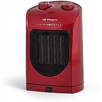 Orbegozo CR 5036 – Calefactor eléctrico cerámico con movimiento oscilante, 1800 W de potencia,
