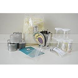 Anfänger Kerze Making-Kit 100% Soja (groß) fruchtigen und festlichen Düfte
