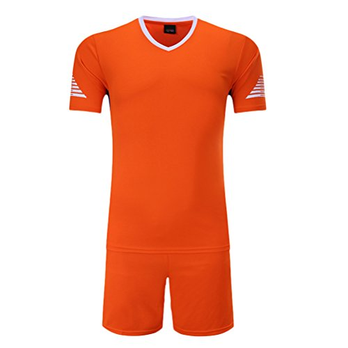 Zhuhaitf Alta qualità Kids Adult Sports Quick Dry Fitness Casual Basketball Clothes Sets Orange