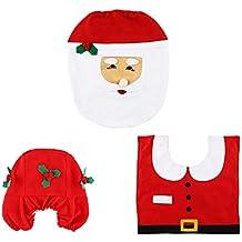 Copri Wc Babbo Natale.Amazon It Copriwater Di Babbo Natale