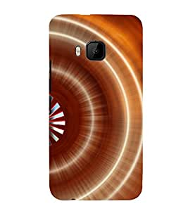 printtech Abstract Pattern Aura Back Case Cover for HTC One M9 / HTC M9 / HTC One Hima