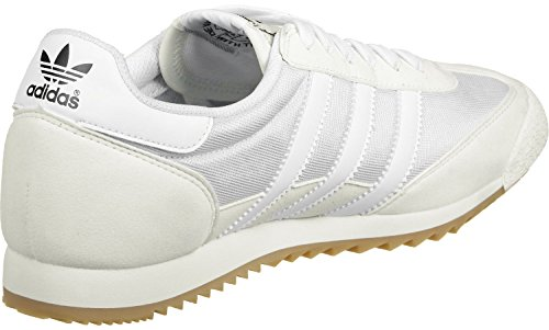 adidas Dragon Og, Sneakers Basses Mixte Adulte Blanc