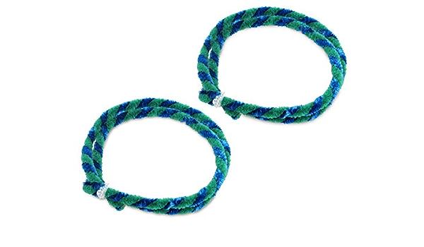 Nabenputzringe Grün Blau Set 2x 76cm Für Motorrad Auto