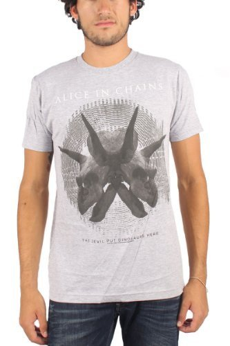 Alice In Chains - Uomo Tar Pit T-Shirt in Grigio, XX-Large, Grigio