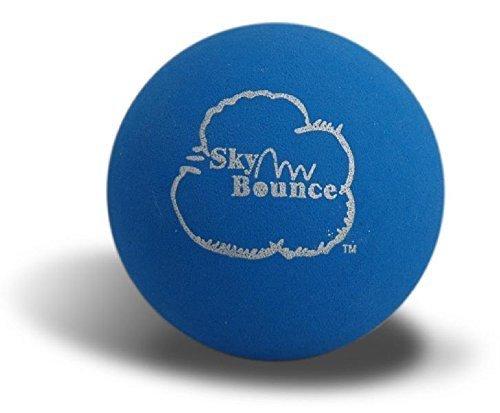 Sky Bounce Farbe Gummi Handbälle für Recreational Handball, Stickball, Racquetball, fangen, Apportieren, und viele mehr Spiele, 21/4-Zoll, blau