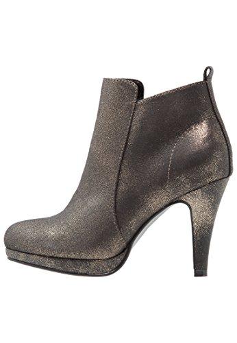 Anna Field Plateau Ankle Boots Damen - Stiefeletten mit Absatz in Gold, 39