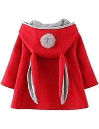 19e1dc2e5ad3 Amazon.co.uk  Red - Coats   Jackets   Baby Girls 0-24m  Clothing