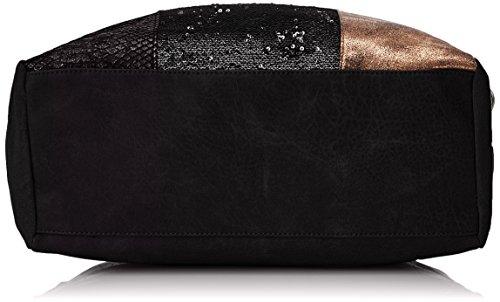 XTI Damen 85836 Tote, 45 x 34 x 13 cm Schwarz (Black)