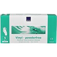 Abena Vinyl-Handschuhe - Gr. S - PU-beschichtet - puderfrei - 10 Boxen - 1 Karton - 1000 Stück preisvergleich bei billige-tabletten.eu