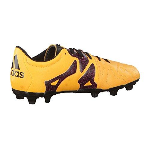 adidas Unisex Babies    X 15 3 Fg ag J Leather Football Boots Multicolour Size  2 5