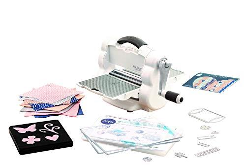 Sizzix 662220 Big Shot Foldaway Starter Kit, Plastic/Steel/Rubber, Multicolour, 30.6x25.4x23.8 cm