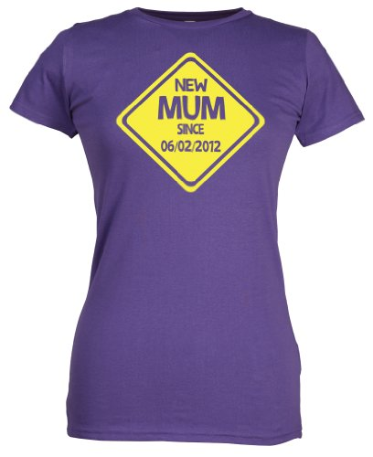 Spoilt Rotten - CUSTOM New Mum - cadeau original pour les maman, Violet, S