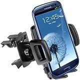 yayago Kfz Auto Halterung / Halter Lüftung für Samsung Galaxy S3 i9300 / Galaxy S4 i9500 / S3 LTE i9305 / S3 Mini i8190 / Galaxy Note 2 N7100 / Note 3 / HTC One und weitere Modelle