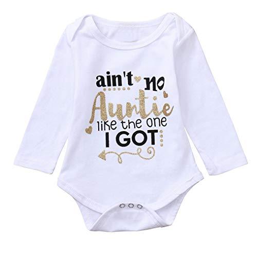 Elecenty Babyartikel Kinderkleidung,Neugeborenes Brief Drucken Strampler Spielanzug Babyausstattung...