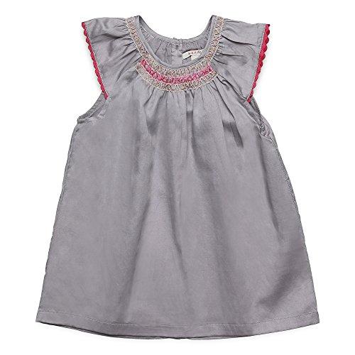 ESPRIT Baby-Mädchen Kleid RJ30011, Grau (Pearl Grey 220), 62