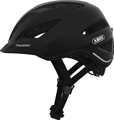 Abus City Touren E-Bike Fahrradhelm PEDELEC 1.1 Black Edition 56-62 cm