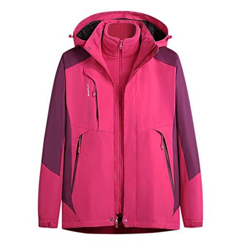 ITISME Damen Ski Jacke Winddichte Verdickte Warm Damen Jackets Snowboard Breathable Skijacke