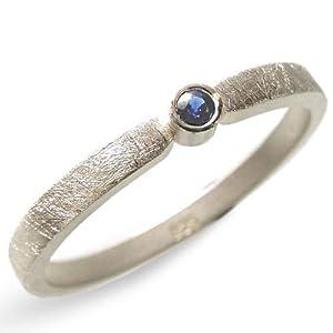 Silberring mit blauem Saphir – Verlobungsring, Vorsteckring, Hochzeit – handgefertigt by SILVERLOUNGE