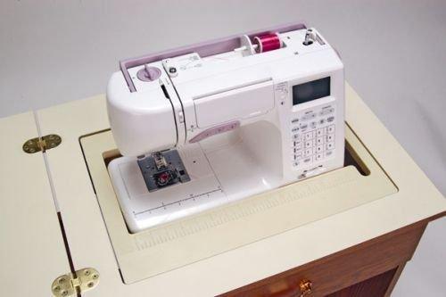 Mobiletto per macchina da cucire sewnatra rovere - Tavolo con macchina da cucire ...