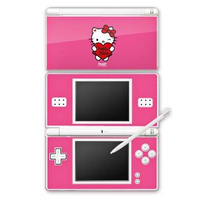 DeinDesign Nintendo DS Lite Case Skin Sticker aus Vinyl-Folie Aufkleber Hello Kitty Merchandise Fanartikel Sweet Heart
