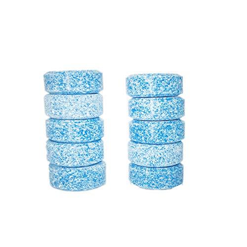 Bbacb 10PCS multifunzionale effervescente spray Cleaner set, concentrato effervescente spray Cleaner 10 pezzi Blue
