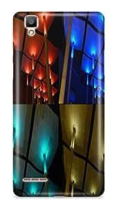 PCM High Quality Printed Designer Polycarbonate Hard Back Cover for Oppo F1 Selfie - Matte Finish - Color Warranty - 0845