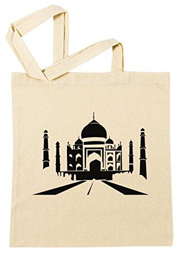 taj-mahal-cotton-borsa-della-spesa-riutilizzabile-cotton-shopping-bag-reusable