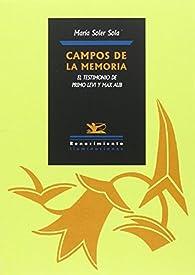 Campos de la memoria par María Soler Sola