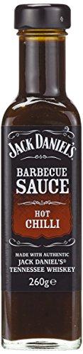 Jack Daniel's BBQ Sauce Hot Chilli, 8er Pack (8 x 260 g)