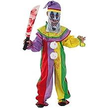 Disfraz payaso diabólico infantil - Único, 5 a 7 años