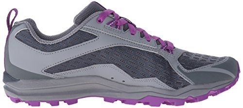 Merrell All Out Crush Trail Running Shoe Grey/Purple
