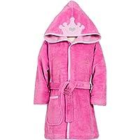 a6e7794831 Smithy Accappatoio per bambini Super flausch con corona, colore rosa