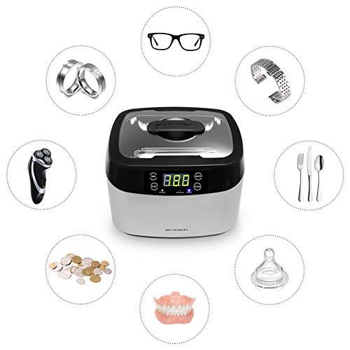 DZSF Ultrasonic Cleaner Cesti Beauty Salon Manicure 1.2L 70W Strumenti 40 Khz Ultrasuoni Macchina A Ultrasuoni Sterilizzatore Cleaner