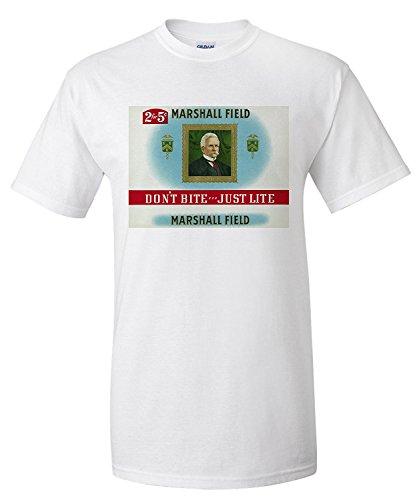 marshall-field-brand-cigar-box-label-marshall-field-dont-bitejust-lite-premium-t-shirt