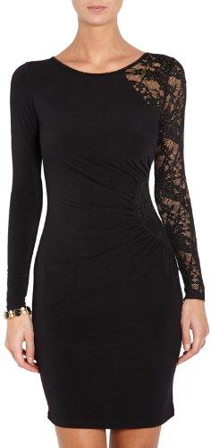 Morgan - Vestito, Senza maniche, Donna, nero (Noir), XL