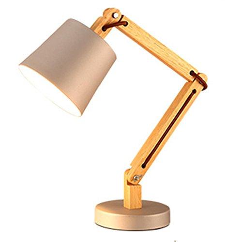 FOcchio di in legno pulsante interruttore tavolo lampada pieghevole lampada