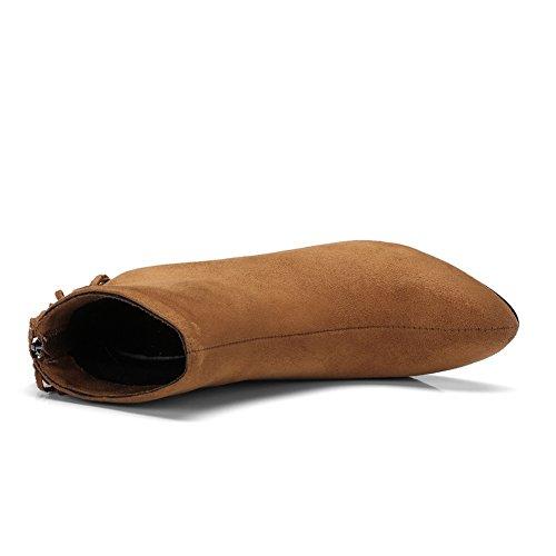 BalaMasa  Abl09553, Sandales Compensées femme Jaune