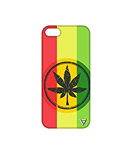 Vogueshell Weed Sign Printed Symmetry PRO Series Hard Back Case for Apple iPhone 5