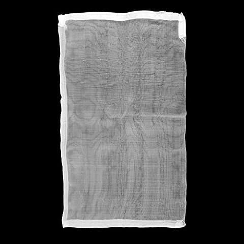 10pcs Tirette Sac En Nylon De Milieu Filtrant De Maille 25x38cm Pour L