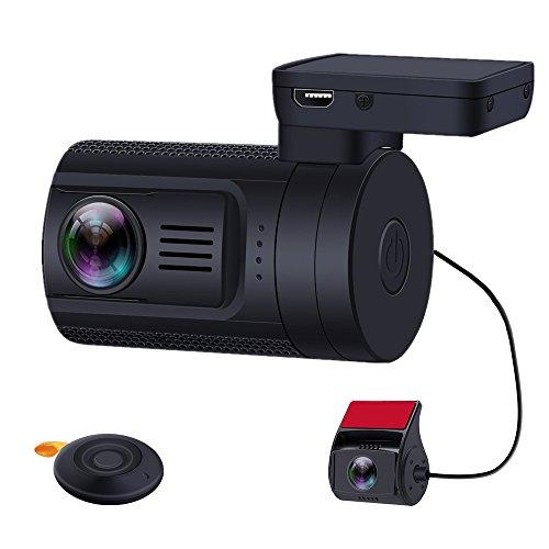 sensor Exmor de Sony IMX291 IMX323; c/ámara para salpicadero de C/ámara doble para salpicadero 1080P FHD Mini 0906 c/ámara grabadora para salpicadero con GPS