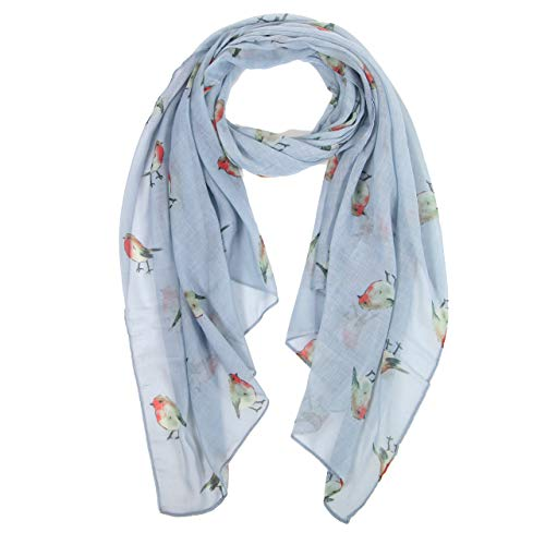 Floral Bedruckte Schal (DiaryLook Damen Damenmode Butterfly Print Lange Schals Floral Neck Scarf Shawl Wrap)