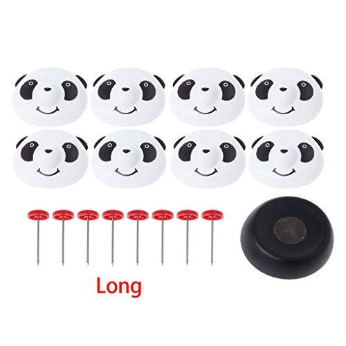 GROOMY Bett Halter Pin Bettdecken Quilts Fastener Panda Cap Pin magnetische Detacheur Set -