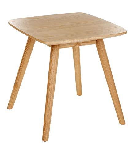 Table basse carrée, Guéridon - BELLE QUALITE & ROBUSTE - Coloris BOIS