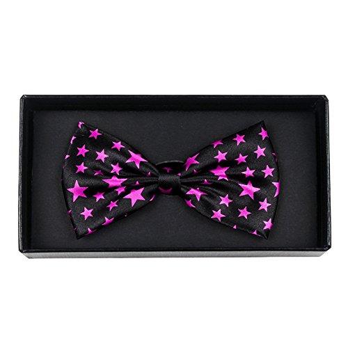 YSFWL  Fliege Für Kinder,1 StüCk Krawatte Einstellbare Baby Kinder Bowtie Spielzeug Pflege Einstecktuch Kleidung Krawatten Farben Schleife Fliegen Gebunden Fliegengitter Größe:10 * 6CM (G)